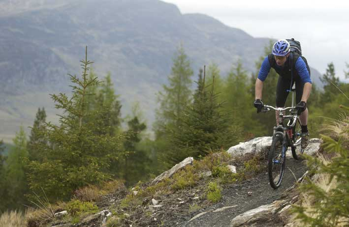 Laggan Wolftrax Mountain Bike Centre. Check their website for biking events. A  mountain bike hire delivery service direct to the door is also offered